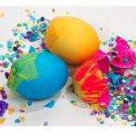 Превращение яйца в конфетти: простой фокус для детского праздника