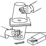 Как сделать фокус со стаканом в домашних условиях