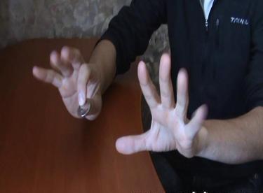 Монета в руке