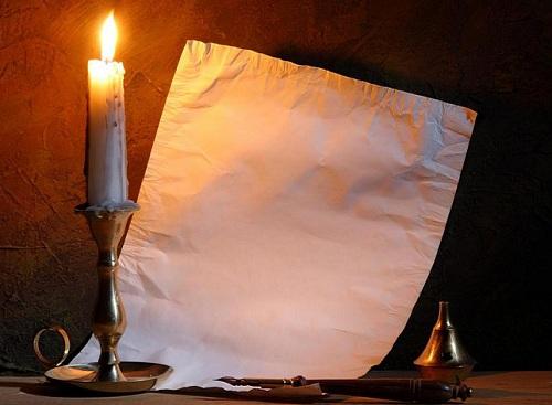 Фокус бумага и огонь