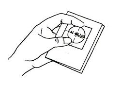 Сворачиваем лист бумаги
