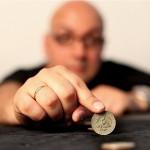 Фокус с монетами «Матрица»