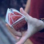 Карточный флориш «Трещание»