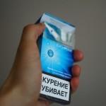 Фокус с появлением сигарет в пачке
