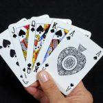 Карточный фокус «Всем флеш-рояль»