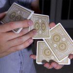 Как выполняется фальшивая тасовка карт?