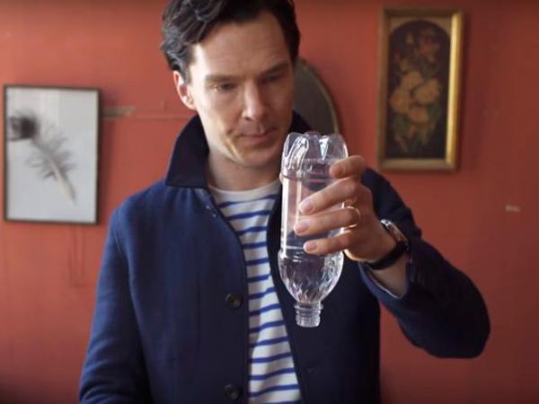 фокус с бутылкой