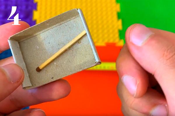 секрет фокуса с коробком